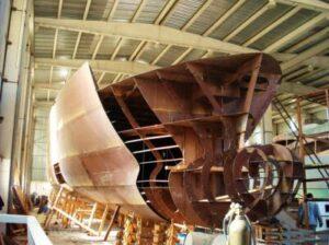 Yacht construction materials