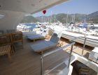 Crewed motor yacht